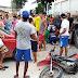 PORTO SEGURO: CAMINHÃO PASSA POR CIMA DE PERNA DE MOTOCICLISTA NO BAIANÃO