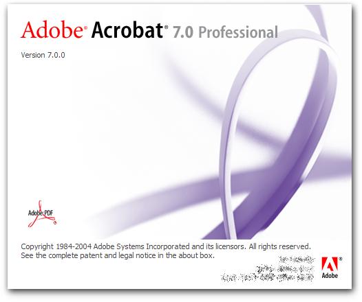 adobe acrobat professional 7 + crack free download