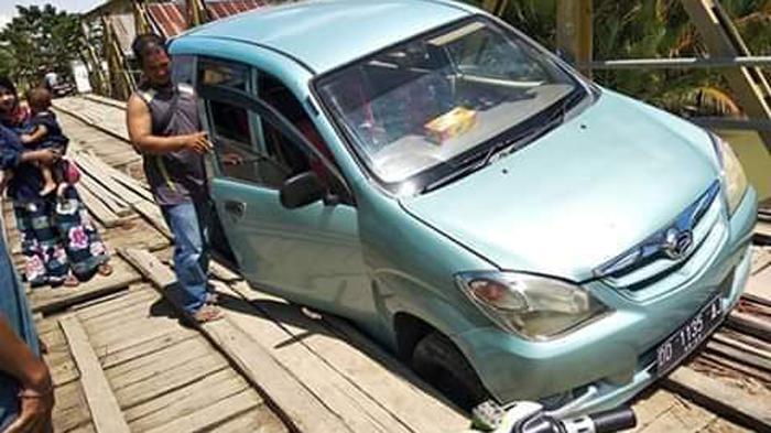 Dalam Dua Tahun, Muh Yasir Janji Perjuangkan Anggaran dari Pusat Jembatan Kayu Watu
