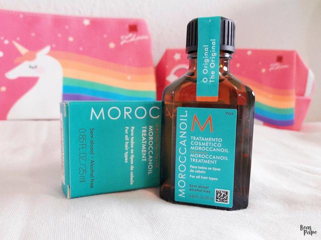 #EuTestei: Moroccanoil Oil Treatment