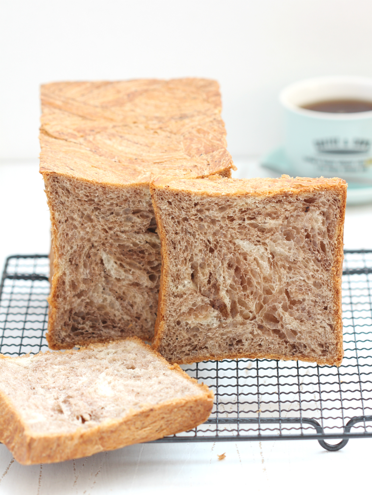 My Bare Cupboard Danish Loaf Bread 3 Ways Cocoa