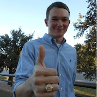 Clint Lowery, graduate of Texas A&M, shows off the Aggie Ring. Photo used with permission from Clint Lowery.