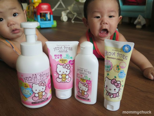 HIYA PURE Hello Kitty Baby Skin Care Review & Giveaway