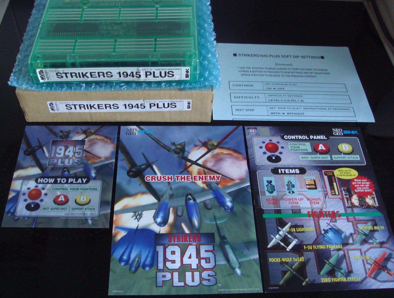 ARCADE4LIFE: Strikers 1945 Plus Neo Geo MVS Kit