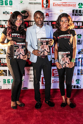 Ubi at African Muzik Magazine launch