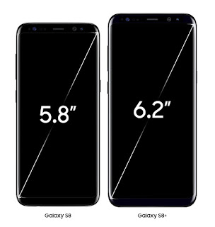 Desain Samsung Galaxy S8 dan S8 plus