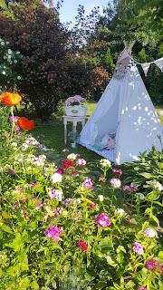 Sielskie klimaty – namiot tipi
