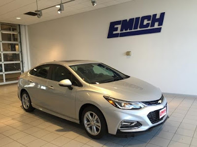 2016 Chevrolet Cruze at Emich Chevrolet