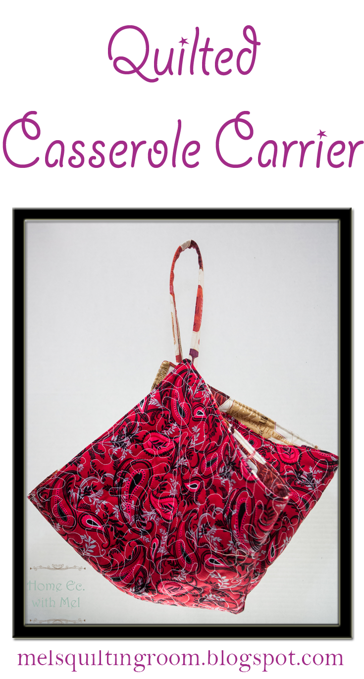 How To Make A Quilted Casserole Carrier - The Quilting Room