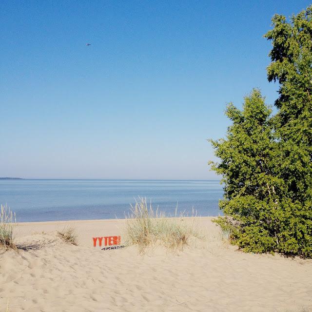 meri, hiekkaranta