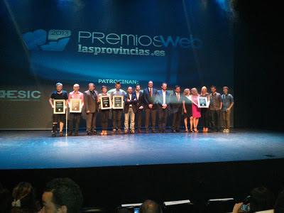 Gala premios web 2013