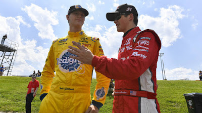 Todd Gilliland  and Harrison Burton At It Again - #NASCAR