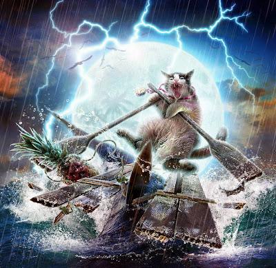 Ice Wolf 3d Wallpaper 3d Fantasy Art Cats Art Two