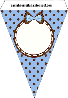 Banderines de  Novia Cocinera para imprimir gratis.