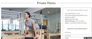 pilates in Singapore