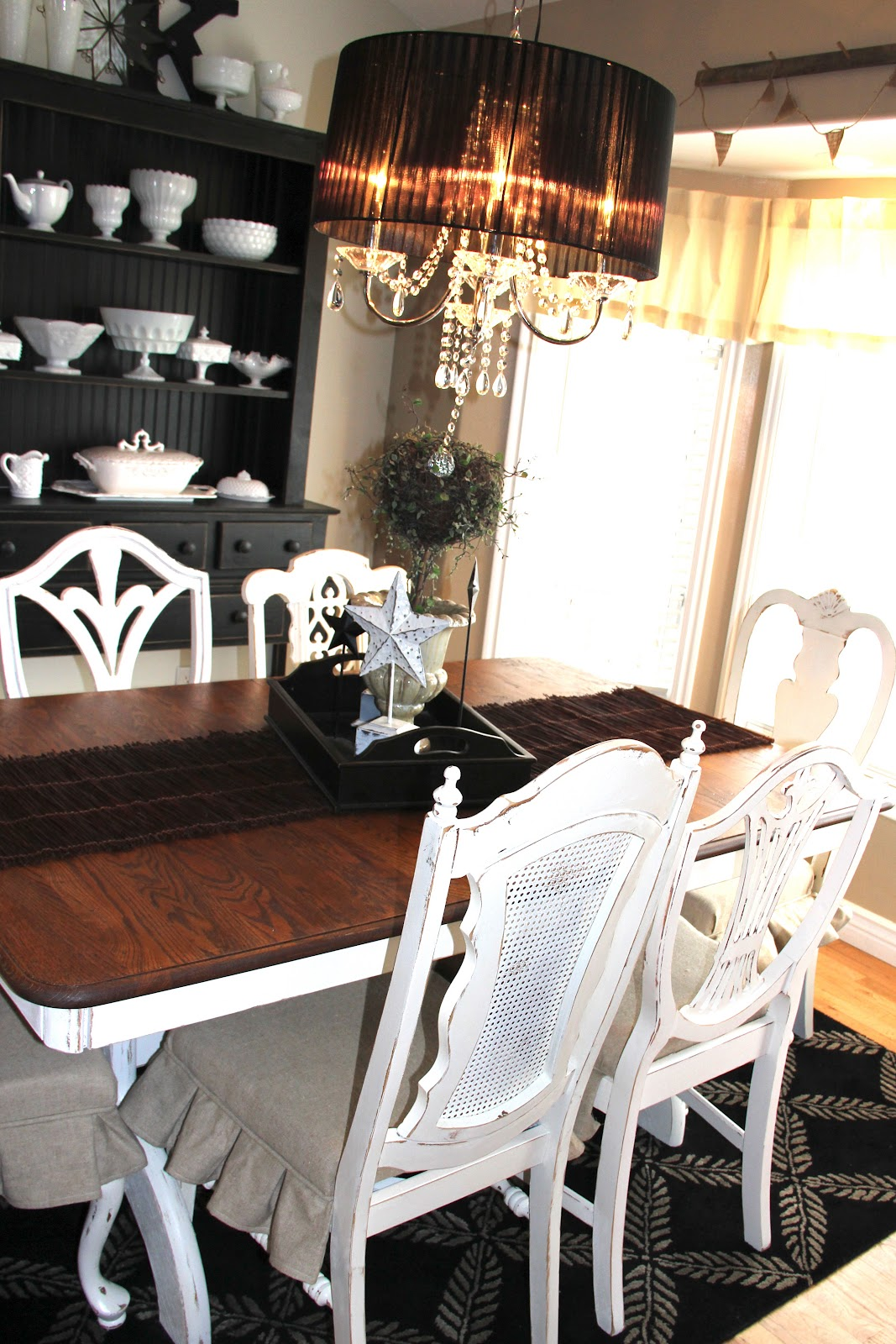 White Place Furniture A Dining Room Makeover