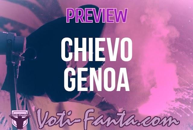 Preview Chievo Genoa: probabili formazioni, infortunati, ultime notizie
