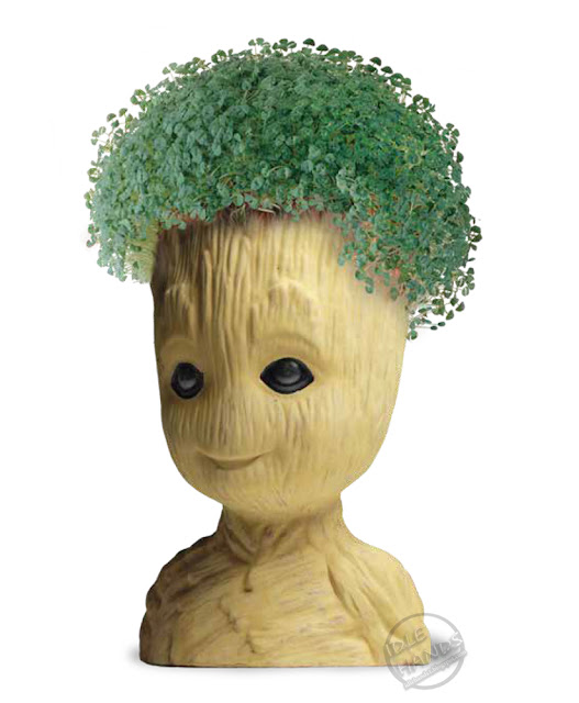 SDCC 2018 NECA Marvel Comics Guardians of the Galaxy Groot Chia Pet