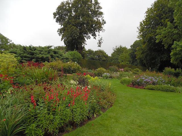 rabaty bylinowe, angielski ogród