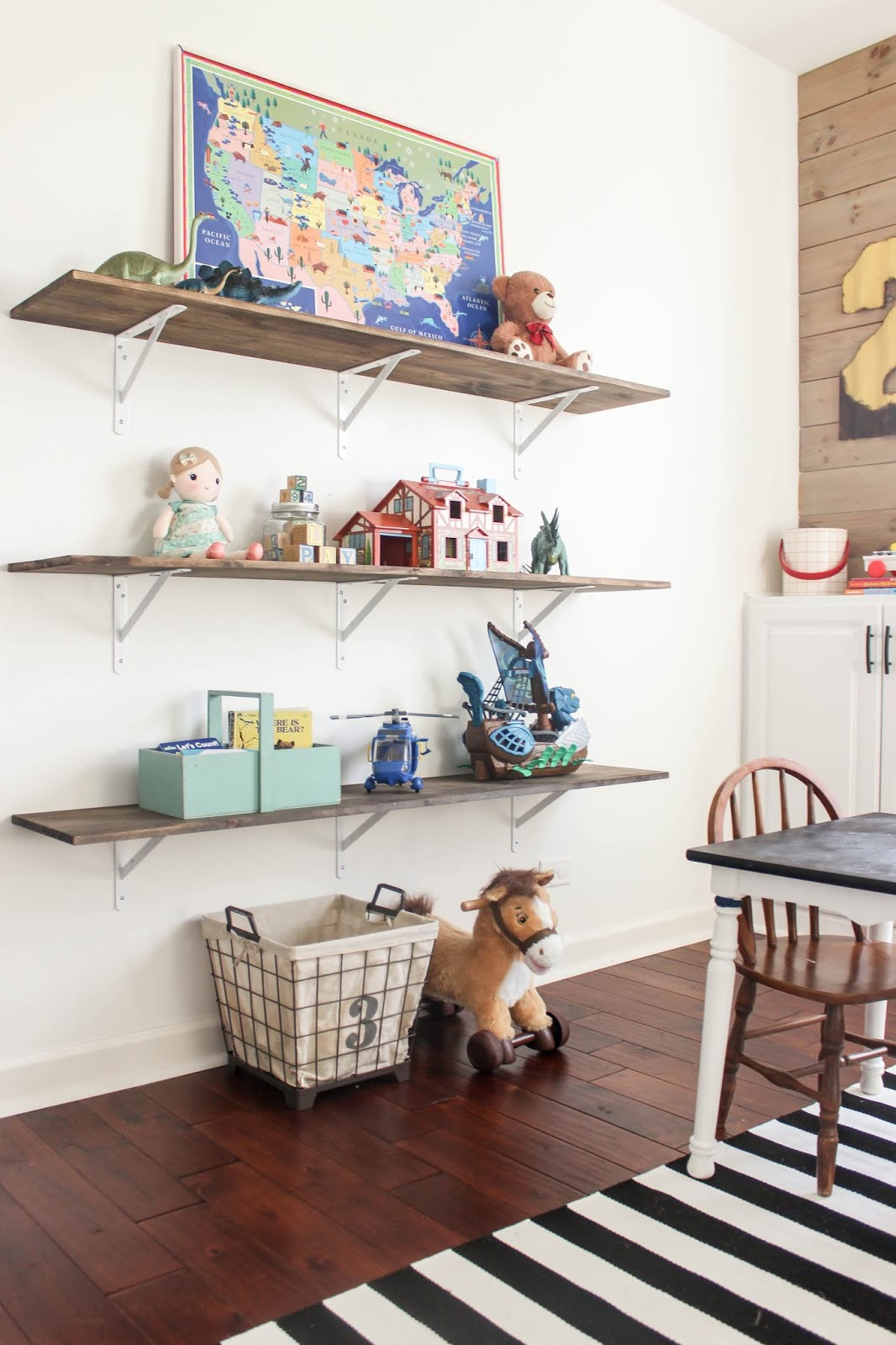 DIY Playroom Shelving Ideas