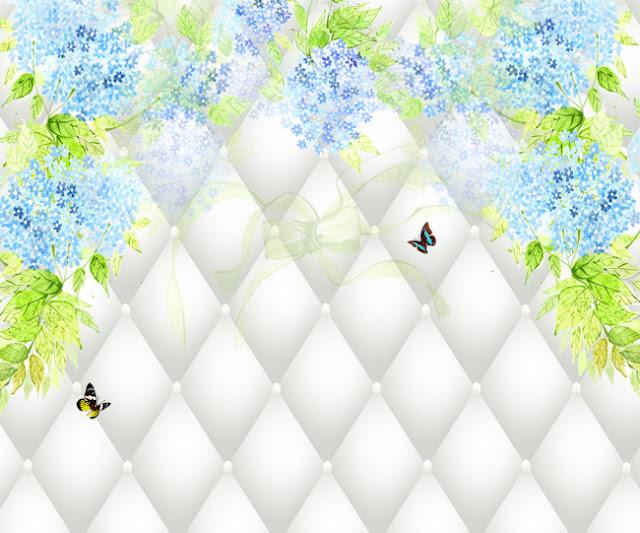Tường bao mềm giả hình kim cương 3D