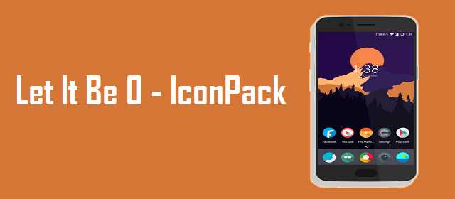 Let It Be O – Pixel 2 Minimalist Icon Pack APK indir