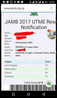 jamb runs 2018