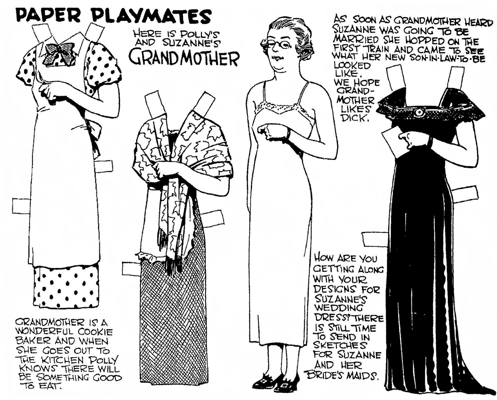 Mostly Paper Dolls Too!: February 2013
