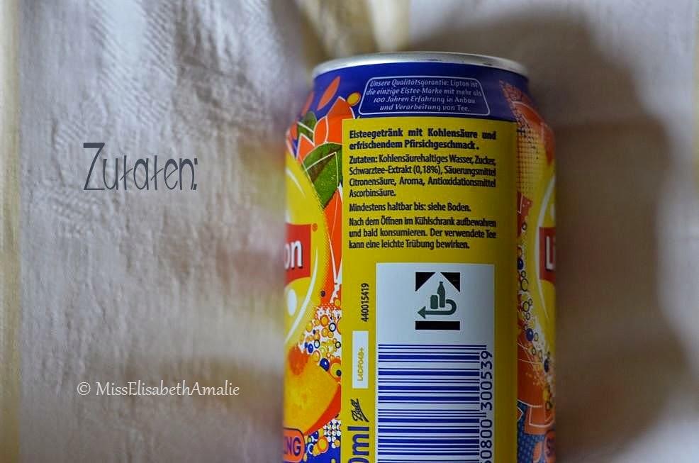 Lipton eistee dose ohne kohlensäure