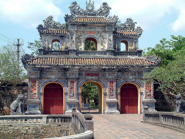 Puerta Hien Nhon, Ciudadela de Hue (Vietnam)