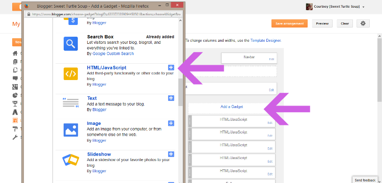How To: Create and Install a Blog Button