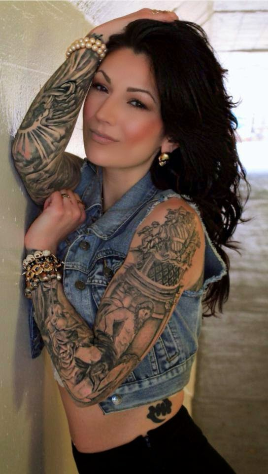 Mujeres Tatuadas Katrina Franchina
