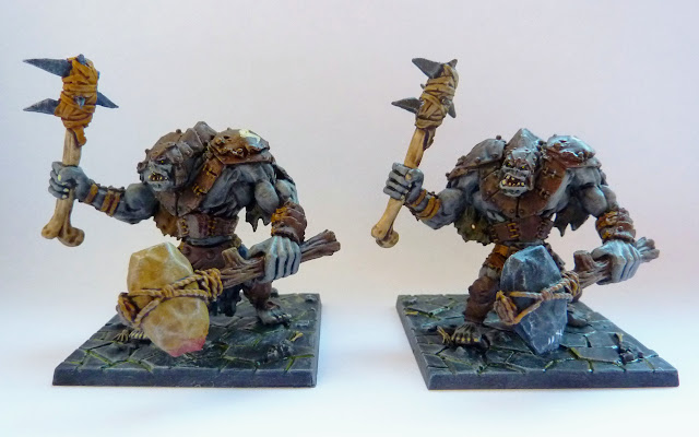 Trolls - Warlord of Galahir expansion for Mantic's Dungeon Saga.