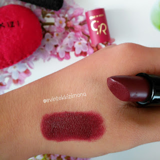 GOLDEN ROSE VELVET MATTE  LİPSTİCK NO:23