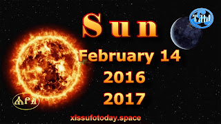 The sun is very beautiful February 14, 2016 and 2017 timelapse