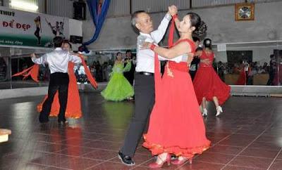 Bộ môn khiêu vũ cho người cao tuổi