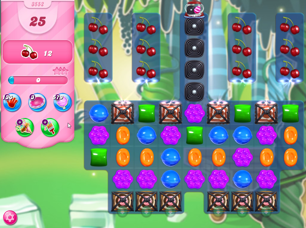 Candy Crush Saga level 3552