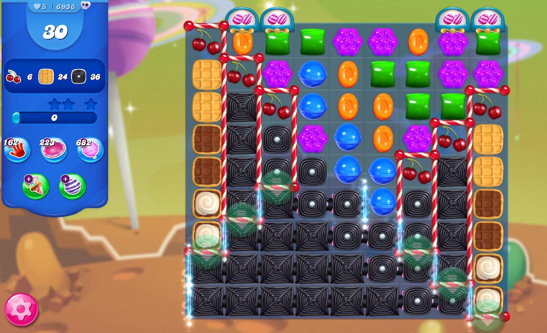 Candy Crush Saga level 6936