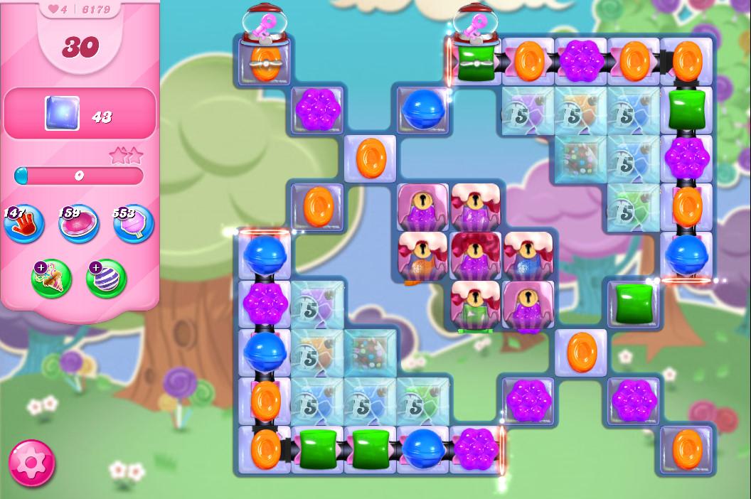 Candy Crush Saga level 6179