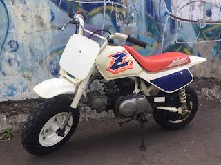 Dijual Honda Mini Trail Z50R th 1994 built up Jepang