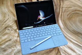Surface Go vista anteriore