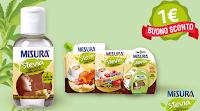 Logo Misura Stevia ti regala un buono sconto : risparmiare è dolce