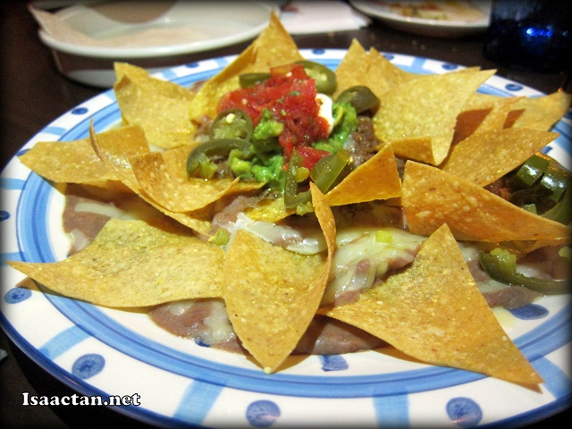 #2 Nachos Grande - RM27, RM24 for vegetarian ones