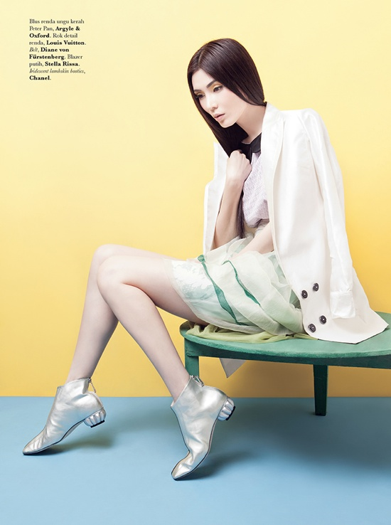 ea19c7cfdda Jill Lee by Raja Siregar for Elle Indonesia June 2012 Editorial ...
