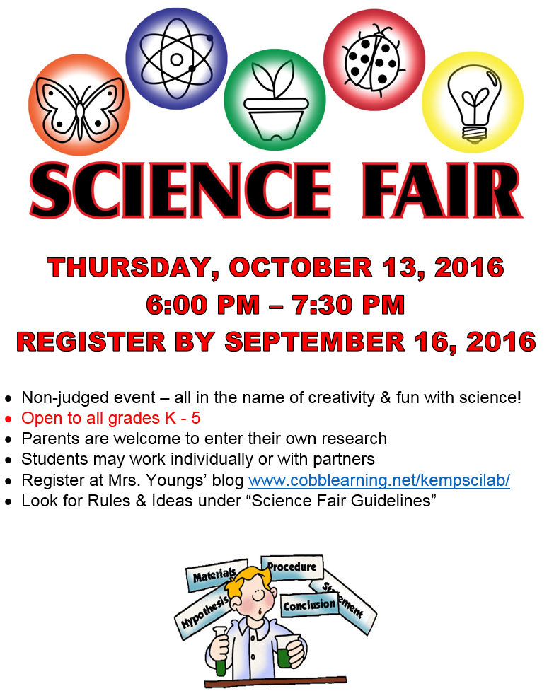science fair guidelines Internet science fair resources: on their web site, you can find additional information on completing a science fair project, the rules and guidelines, the rules.