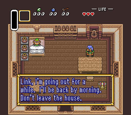 Super Adventures In Gaming: The Legend Of Zelda: A Link To