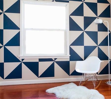 parede geometrica