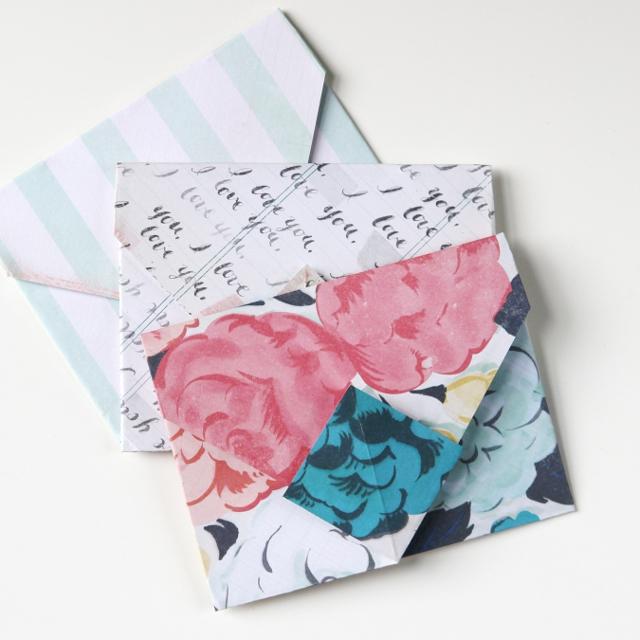 Diy Origami Envelopes