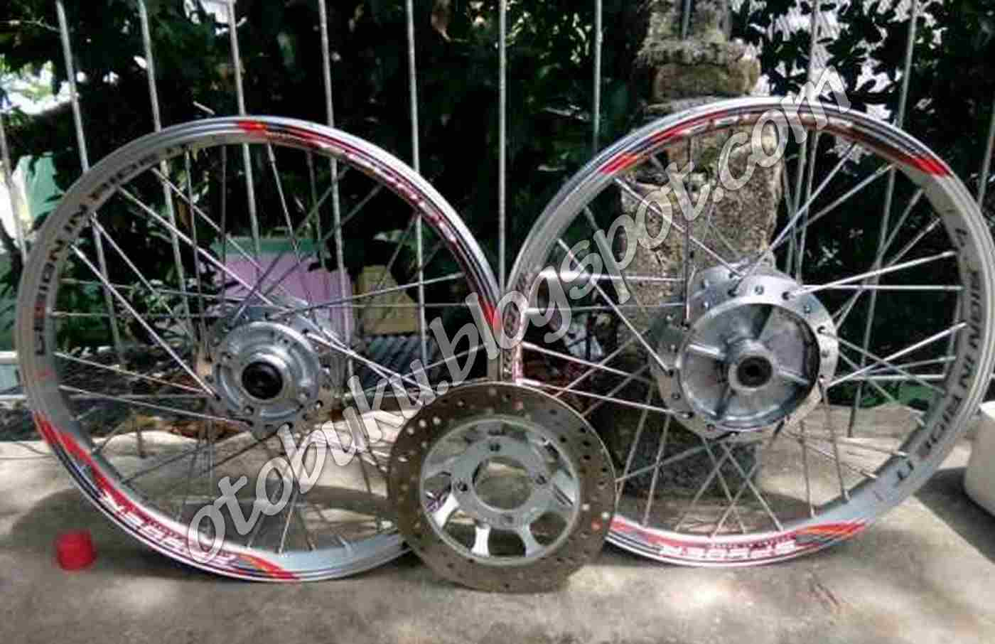 Velg Ride It Lengkap Tinggal Pasang