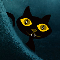 Play WowEscape Scary Black Cat…